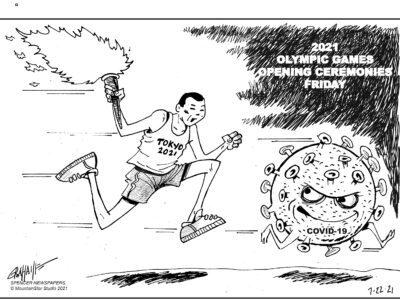 Editorial cartoon 7-22-21