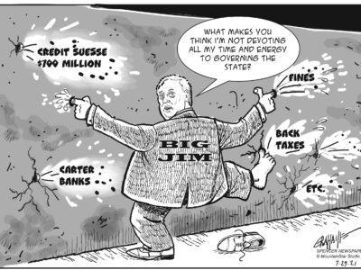 Editorial cartoon 7-29-21