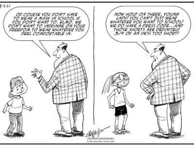 Editorial cartoon 9-9-21