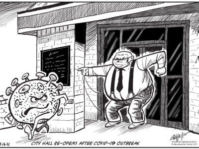 Editorial cartoon 9-16-21