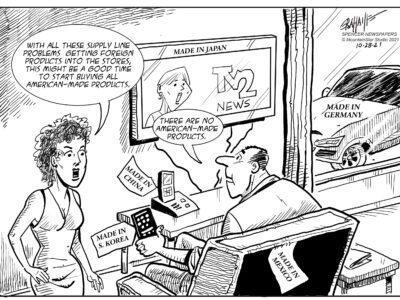 Editorial cartoon 10-28-21