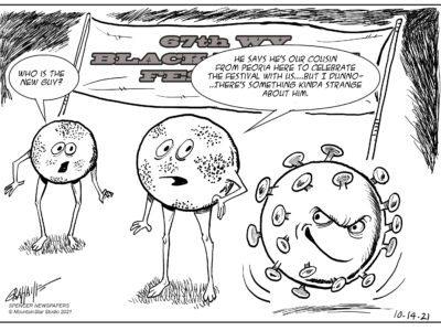 Editorial cartoon 10-14-21