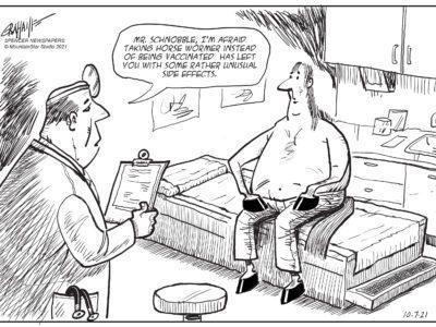 Editorial cartoon 10-7-21
